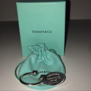 So special!  Return To Tiffany Keyring & Tag